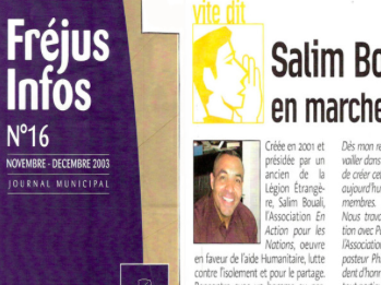 Fréjus infos – Novembre – décembre 2003