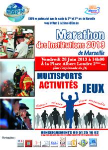 2. Affiche Marathon 2013