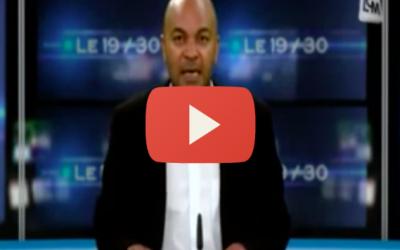 2° Édition du Marathon des Institutions : Journal TV LCM [à partir de 7'40]