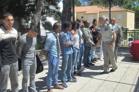 Les jeunes «commandos» reçus à la Légion étrangère