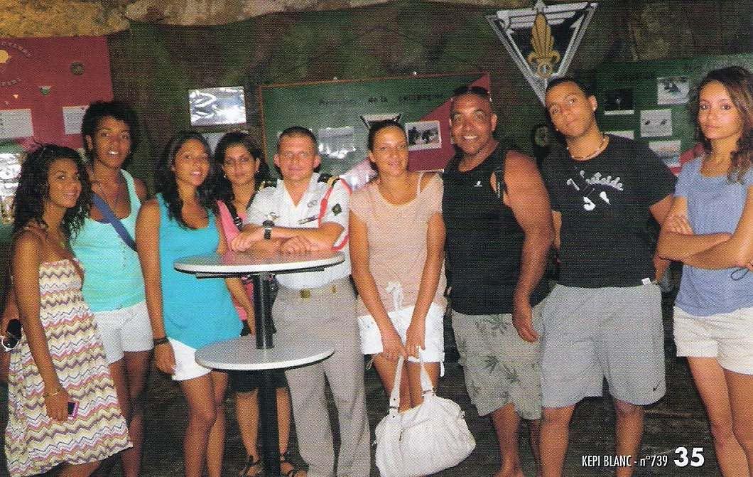 Camp rupture Corse 2011