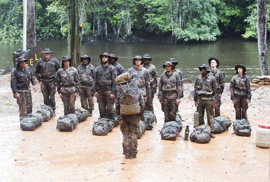 Dix jeunes marseillais des quartiers Nord en stage commando en Guyane